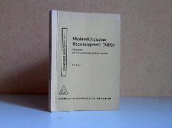 Bünger, Ludwig; Niedersächsisches Beamtengesetz (NBG) der Fassung vom 1. März 1963 2. Auflage