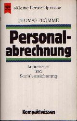 Fromme, Thomas: Personalabrechnung Lohnsteuer und Sozialversicherung