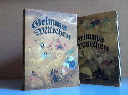 Erler, Therese;  Kinder- und Hausmärchen Band 1 und 2 - gesammelt durch die Brüder Grimm 2 Bücher