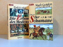 Gordon, Noah; Die Erben des Medicus + Der Schamane 2 Bücher