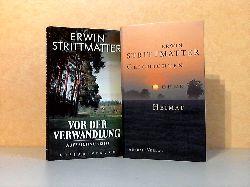 Strittmatter, Erwin;  Vor der Verwandlung. Aufzeichnungen + Geschichten ohne Heimat 2 Bücher