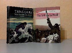 David, Kurt; Tenggeri, Sohn des Schwarzen Wolfs - Der schwarze Wolf Illustrationen von Hans Baltzer