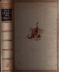 Bölsche, Wilhelm; Leben der Urwelt Aus den Tagen der großen Saurier 1.-10. Auflage (1. bis 100. tausend)