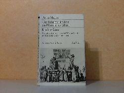 Hacks, Peter;  Das Jahrmarktsfest zu Plundersweilern + Rosi träumt - Zwei Bearbeitungen nach J.W. von Goethe und Hrosvith von Gandersheim