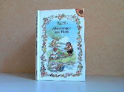 Weber, Karin; Vier Freunde in Wald und Feld: Abenteuer am Fluß Illustrationen von Rene Cloke
