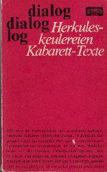 Schaller, Wolfgang und Wolfgang Zobel; Herkuleskeulereien - Kabarett-Texte Collagen von Helmut Merten 3. Auflage