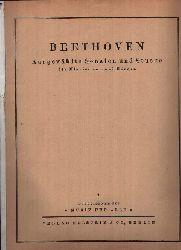 o. Angabe:  Beethoven - Ausgewählte Sonaten und Stücke für Klavier zu zwei Händen Sonderalbum der Musik für Alle