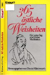 Kleinworth, Daniel;  365 östliche Weisheiten - Für jeden Tag eine kleine Meditation