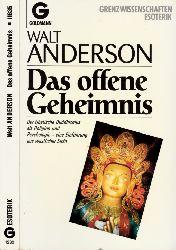 Anderson, Walt; Das offene Geheimnis 1. Auflage