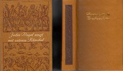 Rehbein, Detlev;  Jeder Vogel singt mit seinem Schnabel - Nordeuropäische Spruchweisheiten Minibuch - Mit historischen Holzschnitten