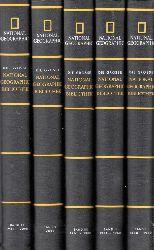 Birkelbach, Ralf, Jan Scherping und Hans-Joachim Löwer; Die grosse National Geographic Bibliothek Babd 1, 2, 3, 4, 5,
