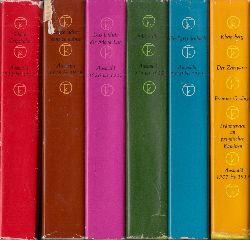 Links, Roland und Christa Links;  Kurt Tucholsky. Ausgewählte Werke - Band 1, 2, 3, 4, 5, 6 6 Bücher