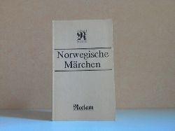 Schulze, Bernhard; Norwegische Märchen Reclams Universal-Bibliothek Band 402 6. Auflage