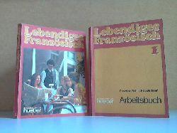 Schmid-Sesterhenn, Roswitha, Hans G. Bauer und Elisabeth Bauer; Lebendiges Französisch 1: Lehrbuch + Arbeitsbuch 2 Bücher 1. und 2. Auflage