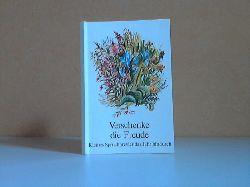 Sommerfeld, Fortunat; Verschenke die Freude - Kleines Spruchbrevier das Jahr hindurch 4. Auflage,, 53.-62. tausend