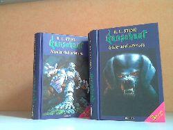 Stine, Robert L.;  Gänsehaut: Mumien sind unter uns + Geister sind unter uns - Das Supergruselbuch 3 Bücher