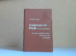 Hammer, Anton und Karl Hammer; Taschenbuch der Physik für Schüler und Studierende - Lindauers Häuslicher Unterricht Band 3 158 Figuren 5. Auflage