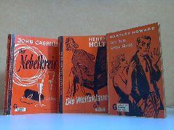 Cassells, John, Henry Holt und Hartley Howard;  Der Nebelkreis - Die Wolfsklaue - Ich bin kein Held 3 Bücher aus der Reihe GOLDMANNS TASCHEN-KRIMI