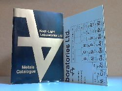 Autorengruppe;  High-Purity Elements and Compoundes