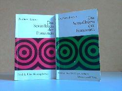 Amoroso, Henri.; Das Sexualleben der Franzosen - Teil 1: Die Komplexe + Teil 2: Das WIE zwischen Mann und Frau 2 Bücher, PARISER TASCHENBUCH BAND 3 + BAND 4