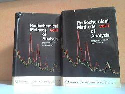 Autorengruppe;  Radiochemical Methods of Analysis Band 1 + 2 - Proceedings of the Symposium on Radiochemical Methods of Analysis Held by the International Atomic Energy Agency at Salzburg, 19-23 October 1964