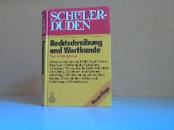 Berger, Dieter und Werner Scholze;  Schüler-Duden: Rechtschreibung und Wortkunde