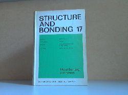 Autorengruppe;  Structure and Bonding Volume 17