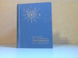 Rudolph, Ludwig und Alfred Witte; Leitfaden der Astrologie System Hamburger Schule 2. Nachdruck