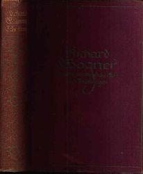 Golther, Wolfgang:  Richard Wagner Leben und Werke - Gesammelte Schriften und Dichtungen in zehn Bänden - Band 1
