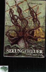 Lange, P. Werner;  Seeungeheuer - Fabeln und Fakten