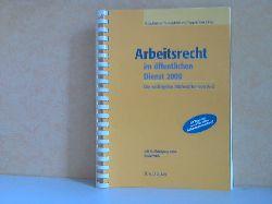 Ruge, Jan, Martin Krömer Klaus Pawlak u. a.;  Arbeitsrecht im öffentlichen Dienst 2008: Die wichtigsten Stichwörter von A-Z Rechtsstand: 1. April 2008