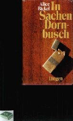 Bickel, Alice: In Sachen Dornbusch Sonderausgabe
