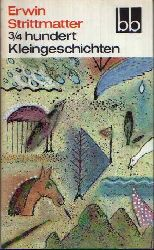 Strittmatter, Erwin; 3/4 hundert Kleingeschichten bb, Band 561