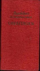 o. Angabe: Oberitalien - Baedekers Autoreiseführer mit Dolomiten, Riviera und Florenz - 29 Karten und Pläne, 50 Zeichnungen 3. Auflage