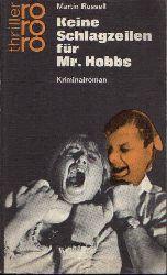 Russell, Martin: Keine Schlagzeilen für Mr. Hobbs Kriminalroman