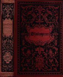 Wendheim, Max: Shakespeares sämtliche dramatische Werke Mit Shakespeares Bildnis und einer Einleitung: Shakespeares Leben und Werke.    Zehnter bis Zwölfter Band. Klassiker-Bibliothek