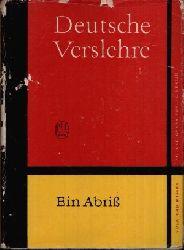 Arndt, Erwin:  Deutsche Verslehre Ein Abriß