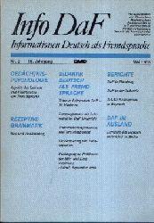 Autorengruppe:  Informationen Deutsch als Fremdsprache Info DaF Nr. 2, 15. Jahrgang