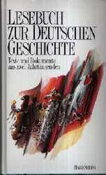 Pollmann, Bernhard;  Lesebuch zur deutschen Geschichte Texte und Dokumente aus zwei Jahrtausenden