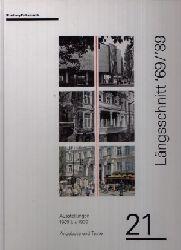 Autorengruppe: Längsschnitt ´69 / ´89 - Ausstellungen 1969 bis 1989 - Angebote und Texte - Brusberg Dokumente 21