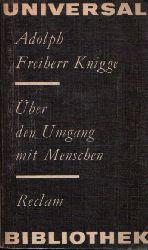 Freiherr Knigge, Adolph: Über den Umgang mit Menschen 3.Auflage/ Band 421