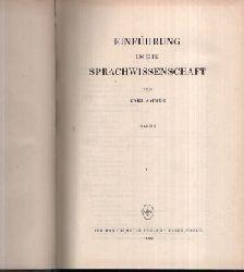 Ammer, Karl:  Einführung in die Sprachwissenschaft Band 1