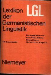 Althaus, Hans Peter, Helmut Henne und Ernst Wiegand:  Lexikon der Germanistischen Linguistik Studienausgabe