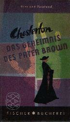 Chesterton Gilbert Keith:  Das Geheimnis des Pater Brown