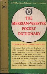 Redaktion des G & C. Merriam Co Verlags: The Merriam-Webster Pocket Dictionary 25,000 Vocabulary Entries, 500 Pages Cardinal Edtion