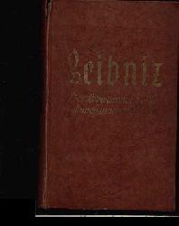 Colerus, Egmont; Leibnitz Der Lebensroman eines weltumspannenden Geistes