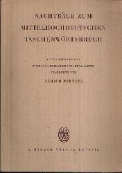 Pretzel, Ulrich: Nachträge zum Mittelhochdeutschen Taschenwörterbuch