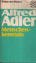 Adler, Alfred: Menschenkenntnis 1.-22. Tausend