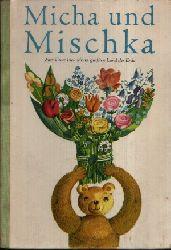 Dancker, Susanne und Peter Kothe:  Micha und Mischka Beschäftigungsbuch für Kinder von 8 Jahren an