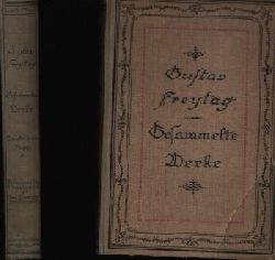 Freytag, Gustav:  Gesammelte Werke; Bilder aus der deutschen Vergangenheit Zweite Serie Band 4+8